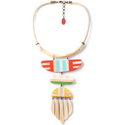 Collier Nature Bijoux Bamboo Stripes LE collier