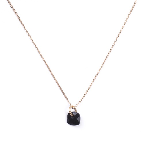 Collier Senzou New Brio Or et Onyx