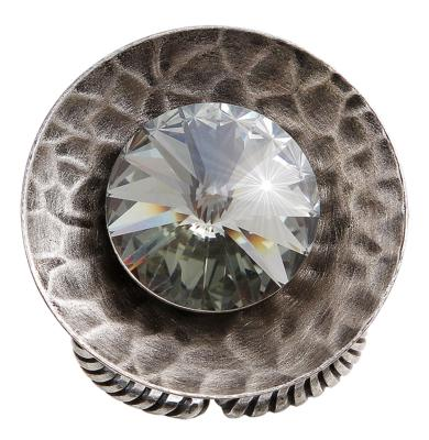Bague Konplott Rivoli Concave Black diamond L