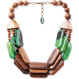 Collier Nature Bijoux Kalimantan 3 rangs