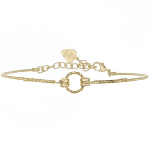 Bracelet Sing A Song Rond Or