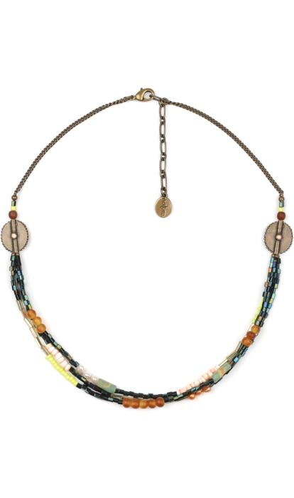 Collier Nature Bijoux Kumasi 3 rangs