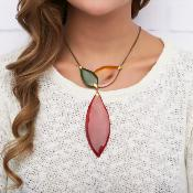 Collier Nature Bijoux Land Art Y