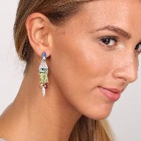 Boucles d'oreilles Franck Herval Abby 3 pampilles