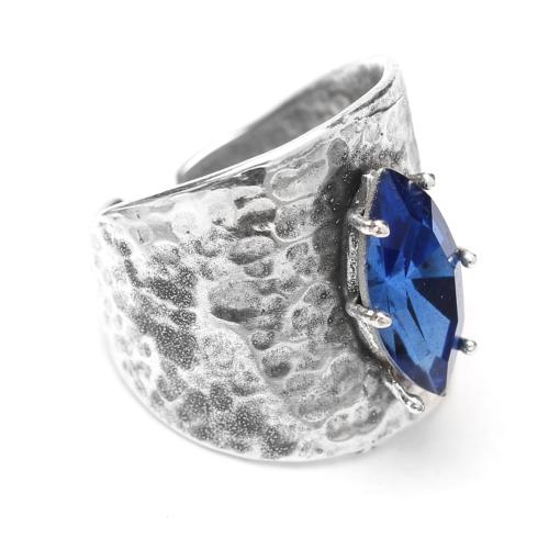 Bague Franck Herval Abby bleue