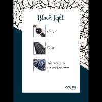 Collier Nature Bijoux Black Light simple