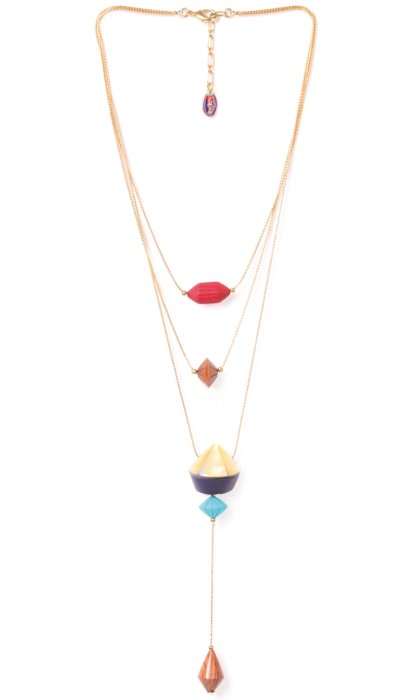 Collier Nature Bijoux Arty Totem 3 rangs