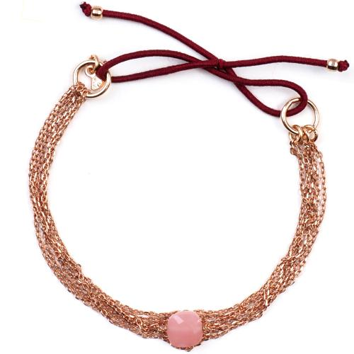 Bracelet Senzou Chic Or rose et Opale