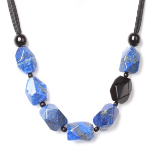 Collier Nature Bijoux Deep blue simple