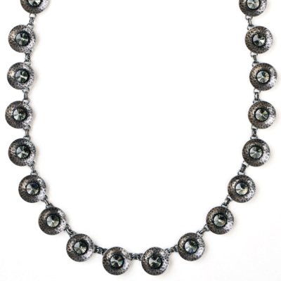 Collier Konplott Rivoli Concave Black diamond XS