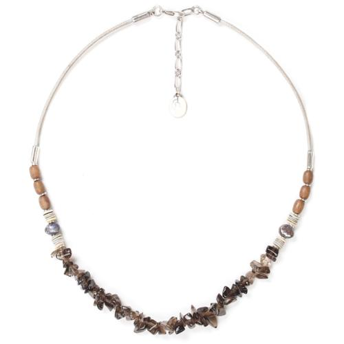 Collier Nature Bijoux Fifty Shades smocky quartz