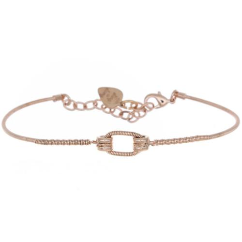 Bracelet Sing A Song Ovale Or rose