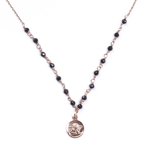 Collier Senzou Turn Ange et Onyx