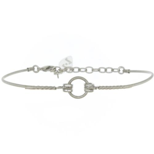 Bracelet Sing A Song Rond argent