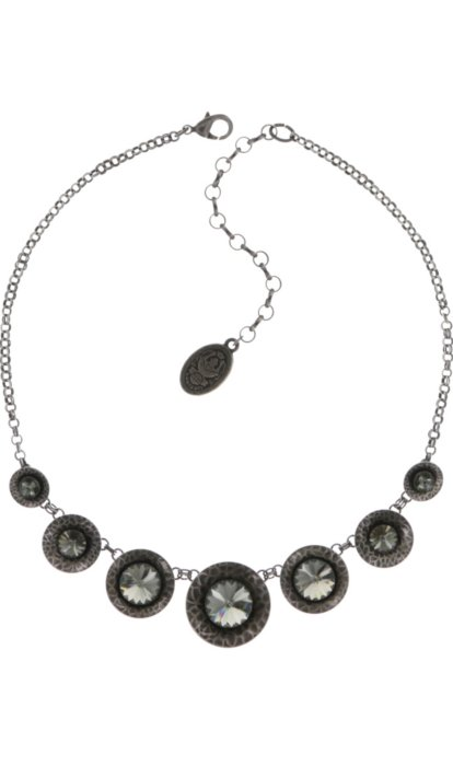 Collier Konplott Rivoli Concave Black diamond