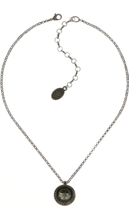 Collier Konplott Rivoli Concave Black diamond M