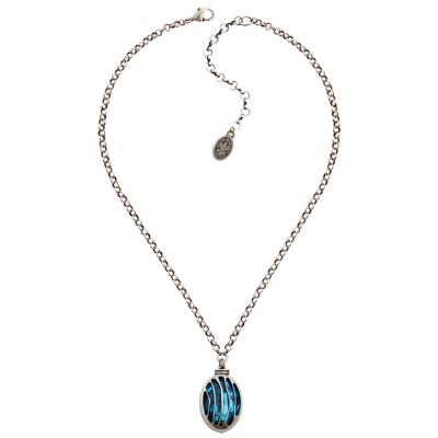 Collier Konplott Captured Blue Crystal Medium