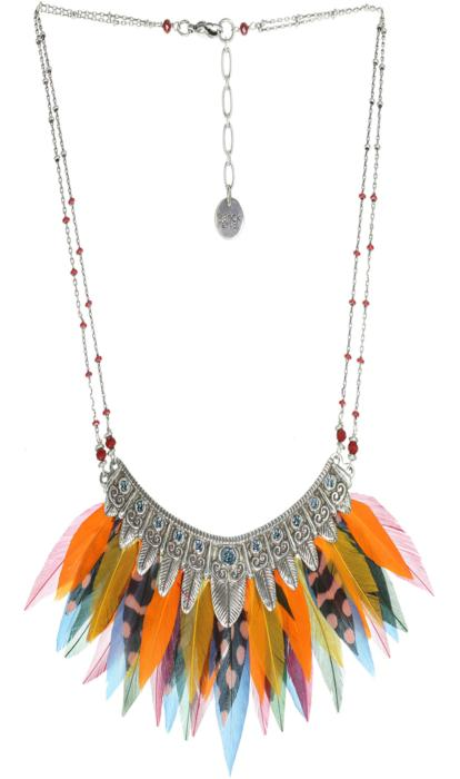 Collier Franck Herval Candyce Plastron