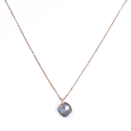 Collier Senzou New Brio Or et Labradorite